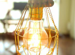 [核战余生]工业复古金属吊灯(包含手工灯泡),灯具,