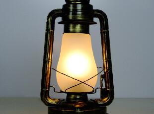 复古怀旧煤油灯配老家具煤油电灯欧式台灯中式马灯老上海台灯,灯具,