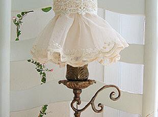 『韩国网站代购』异国情调 古典旧铜蕾丝台灯,灯具,