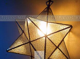 【色彩家居 】现代简约灯具卧室灯客厅灯餐灯卧室蒂凡尼l流星吊灯,灯具,