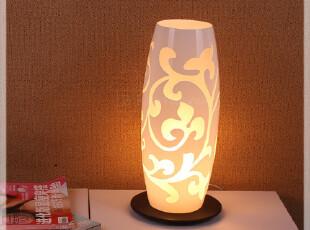 包邮 特价 欧式 热销 卧室 书房 客厅 阿尔马 玻璃 台灯 送光源,灯具,