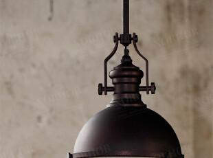 北欧表情/工业工矿风/复古铁艺/美式乡村/仿古铜吊灯餐厅灯benson,灯具,