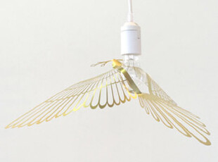 正品Bird lamp北欧 小鸟灯罩Hommin (金色),灯具,