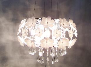 餐厅灯 花朵吊灯 波西米亚吊线灯 卧室灯 灯具灯饰 楼梯灯 书房灯,灯具,