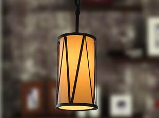 纯美式简约 卡维尔 单头吊灯|餐台灯|吧台走廊过道灯具 新品九折,灯具,