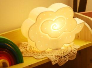 『韩国进口家居』n1374  *创意云朵*装饰气氛台灯,灯具,