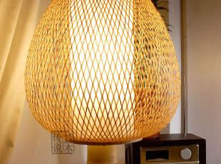 T【满园】中式台灯 现代田园竹木灯具 客厅灯卧室床头灯书房灯,灯具,