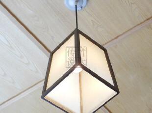 包邮【方贝】日式吊灯榻榻米餐厅卧室灯书房灯宜家简约现代木灯具,灯具,