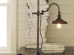 简单的奢华 国内现货 邓肯黄铜质地经典欧式古董台灯,灯具,