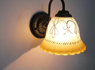 欧式单头壁灯床头家居客厅壁灯简约镜前灯田园阳台壁灯BD-1T026,灯具,