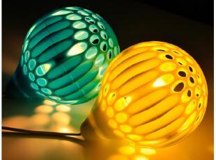 默默爱♥创意家居 韩版 镂空气球 浪漫 小夜灯,灯具,