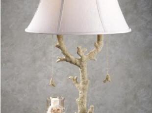 【纽约下城公园】 海洋主题系列 贝壳珊瑚台灯,灯具,