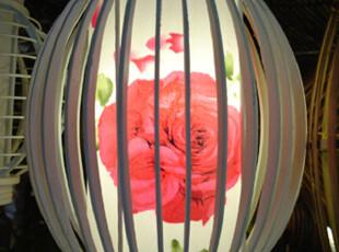 【百年好合】简约温馨台灯 竹灯具 餐厅灯卧室床头灯书房灯,灯具,