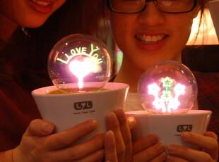 创意礼品 小夜灯 烟花灯 LYL正品 玫瑰灯 小夜灯插电 花火夜灯,灯具,