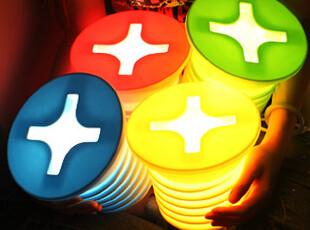 懒角落★创意家居 可爱钉子造型 节能台灯 小夜灯 床头灯 35403,灯具,