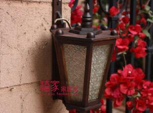 泰国工艺品柚木雕花壁灯宫灯户外阳台过道走廊庭院景观装饰灯A157,灯具,