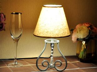包邮简约浪漫小台灯/欧式田园地中海/卧室床头/酒吧餐厅店面装饰,灯具,
