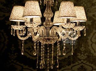 T 凯都 欧式简约水晶灯客厅灯卧室餐厅灯 水晶吊灯饰 灯具 D003,灯具,