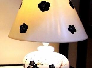 接受预定 台灯卧室客厅灯床头学习工作灯具现代简约欧式古典陶瓷,灯具,