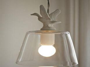 angelababy 天使 现代简约客厅餐厅灯乡村风格 白色小鸭鸭 吊灯,灯具,