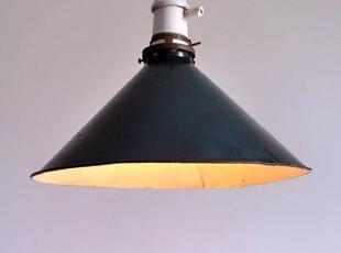 美国古董工业型加油站旧绿铁皮餐服装店馆酒吧咖啡馆装饰工作吊灯,灯具,