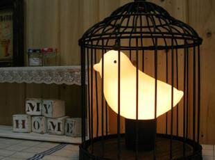 【Asa room】韩国台灯/床头灯/创意台灯/发光的小鸟/std020-b,灯具,