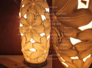 床头灯 台灯 卧室 床头 创意 时尚 欧式 荷叶花形情调床头灯(S),灯具,