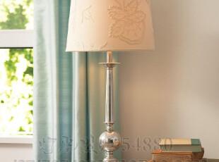 北欧风情台灯美克美家台灯铁艺台灯现代台灯简洁台灯,灯具,