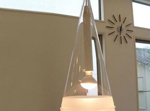 万家灯火现代简约时尚单头玻璃餐厅灯餐吊灯灯罩客厅灯卧室吊灯,灯具,