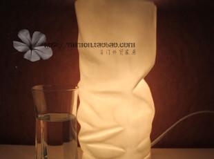 创意时尚陶瓷折纸卧室灯 床头台灯 现代都市风格 大气随性文艺风,灯具,