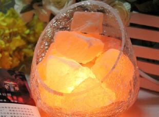 水晶盐灯 正品 包邮 负离子 防辐射台灯 养生水晶盐灯 健康台灯,灯具,