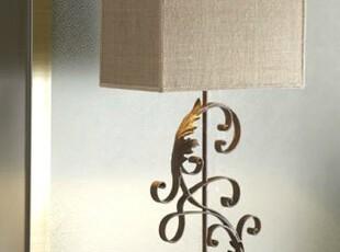 【纽约下城公园】铸铁作旧旋花台灯(国内现货),灯具,