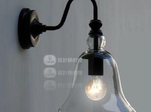 【设计师的灯】yc现代北欧宜家美式乡村风格 复古水晶铃铛 壁灯,灯具,