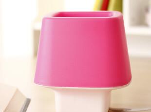 良家生活奇趣方乐小台灯-粉色,灯具,