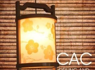 地台榻榻米 日式吊灯  餐厅灯 原木 餐吊灯 过道灯 吊灯 灯具,灯具,
