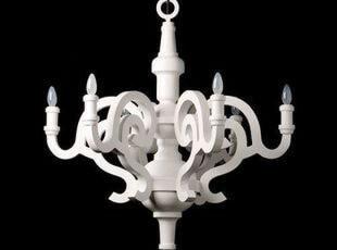厂家直销 后现代灯饰 酒店工程灯具 简约现代家居 木头木片吊灯,灯具,