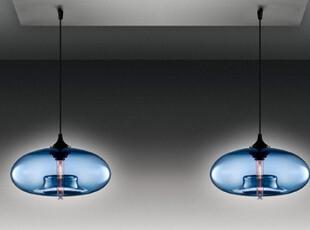 意大利艺术创意极光吊灯饰办公室设计师卧室餐厅灯吧台吊灯具两头,灯具,
