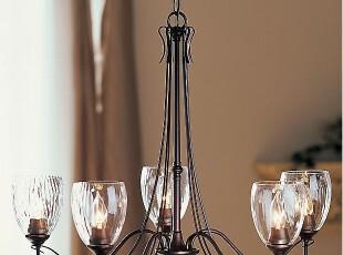 佰房灯饰 地中海宜家仿古美式乡村北欧简约现代 客厅餐厅铁艺吊灯,灯具,