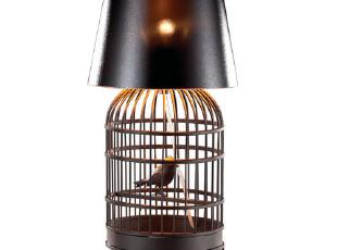 全场4折起【卡迪森】时尚个性设计作品系列装饰台灯【鸟笼,灯具,