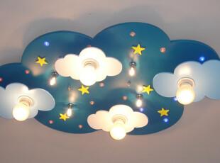 久久灯饰店  儿童灯饰 卧室 木质简约现代吸顶灯  儿童灯具,灯具,
