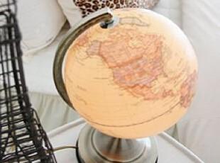 韩国正品代购 个性地球仪桌面台灯/装饰台灯 创意床头灯,灯具,