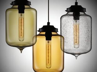 经典NICHE设计系列-TURRET 吊灯(带光源),灯具,