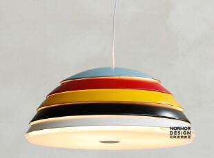 北欧表情/工业主义现代简约乡村/斯堪的纳维亚吊灯/路易森彩条碗,灯具,