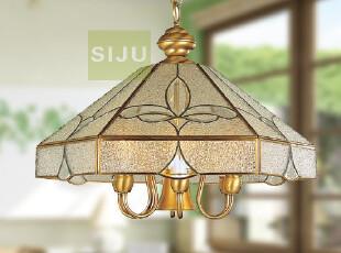 地中海全铜灯诺克灯 铜吊灯客厅吊灯餐厅吊灯卧室灯8012-7,灯具,