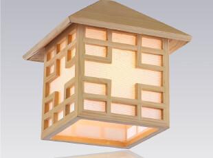 D【8090】创意小木屋灯餐厅灯具楼梯灯吊灯过道灯阳台灯简约3108,灯具,