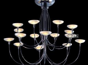 淘品牌【尚雅灯饰】现代简约吸顶灯卧室书房客厅铁艺灯具1754,灯具,