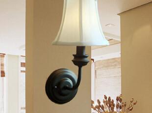 欧莱特 欧式壁灯简约田园床头壁灯复古客厅壁灯走廊灯楼梯灯9035,灯具,