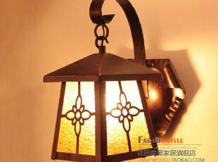 14019欧式田园 地中海灯具 普罗旺斯 玄关灯阳台灯过道灯 吊灯,灯具,