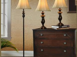 [宜家特价] 欧式美式灯具 客厅/卧室 简约大气时尚 台灯/落地灯,灯具,
