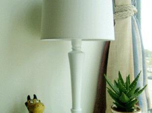 客厅 书房 卧室实木台灯 出口品质 布艺台灯 北欧表情,灯具,